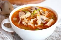 Рецепт вкусного супа из свинины на косточке